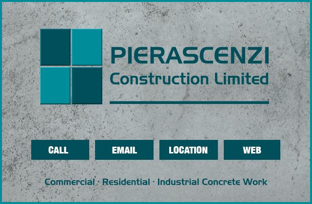 Pierascenzi Construction Limited